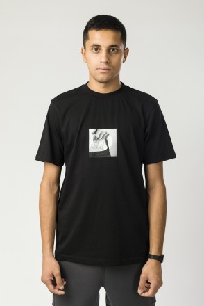 Regular Stitching T-shirt Black