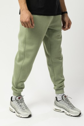 Basic Pants Light Olive Green