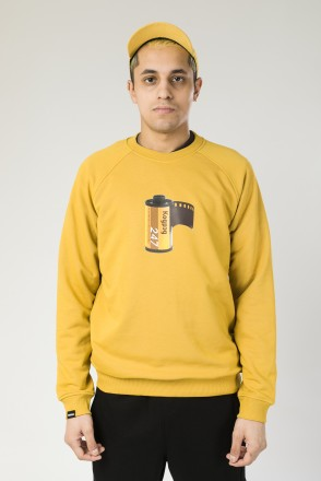 Firm Summer Crew-neck 35mm CR Mustard