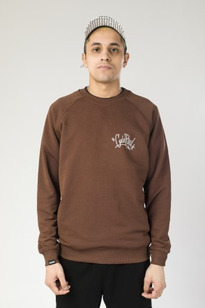 Firm Summer Crew-neck Old Chest Tag Reflective Brown