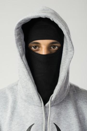 Толстовка Base Hoodie Wide Серый Меланж BioCRazzard