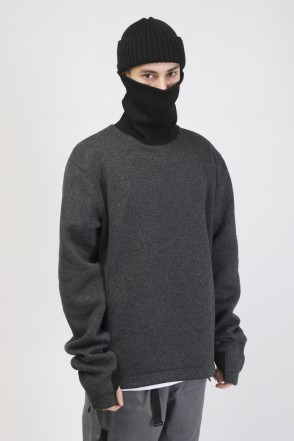 LSL COR Rollneck Graphite Black