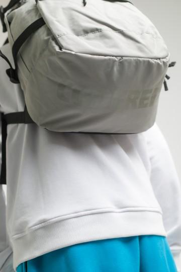 Рюкзак Action Пепельный/Серое лого CODERED