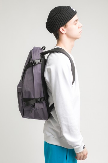 Action Backpack Dark Gray Taslan
