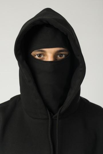 Толстовка Base Hoodie Wide Черный Oversize Logo R