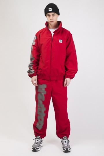 Train Up Winter Jacket Dark Red