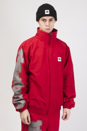Train Up Winter Jacket Dark Red