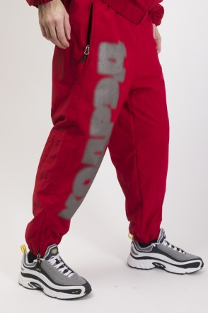 Train Low Winter Pants Dark Red