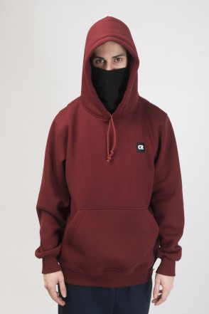 Base Hoodie Cherry Red