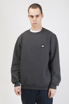 Crew Crew-neck Dark Gray Melange