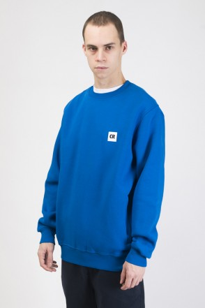 Crew Crew-neck Cornflower Blue