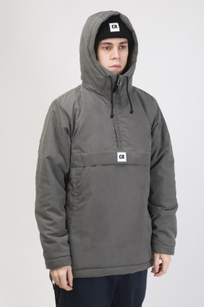 Chrome 3 Anorak Dark Gray