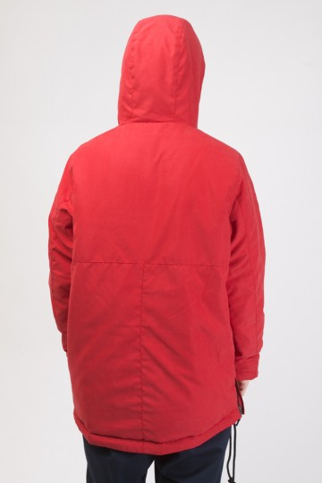 Chrome 3 Anorak Red Vintage