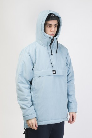 Chrome 3 Anorak Blue