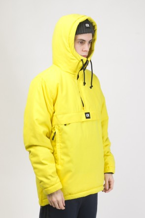 Chrome 3 Anorak Bright Yellow