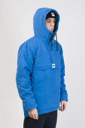 Chrome 3 Anorak Bright Blue