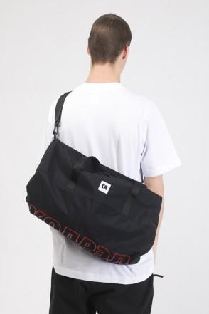 Duffle Bag Black Taslan/Red print КОДРЭД