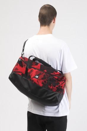 Duffle Bag Red Camo