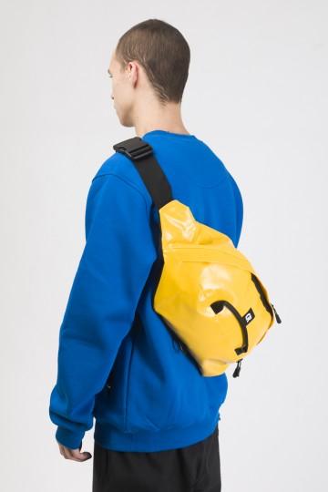 Сумка поясная Hip Bag XXL Желтая Тэза