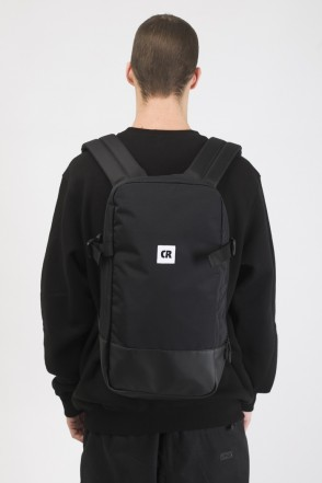 Street Backpack Black Taslan