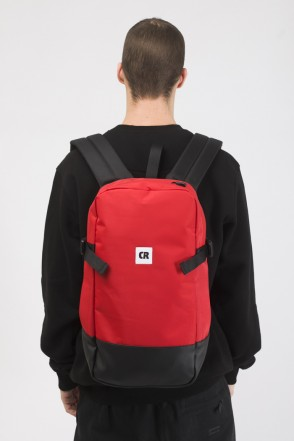 Street Backpack Red Taslan