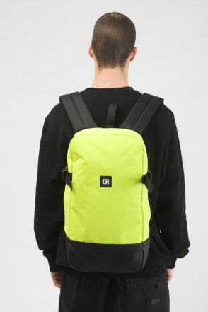 Street Backpack Yellow Taslan