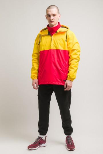 Font 3 Anorak Warm Yellow/Red