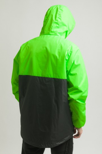 Font 3 Anorak Fluorescent Green/Black