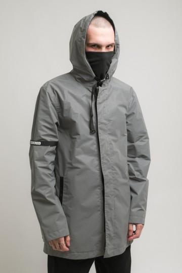 Upfront 2 COR Raincoat Gray Reflective
