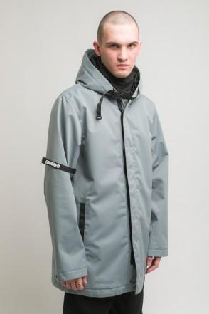 Upfront 2 COR Raincoats Ash Gray Membrane