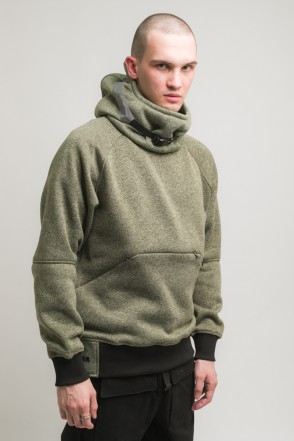Hood COR Sweatshirt Light Green Melange