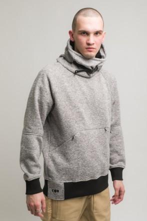 Hood COR Sweatshirt Gray Melange