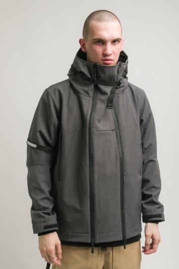 Куртка Safe 3 COR Графит Меланж Софтшелл