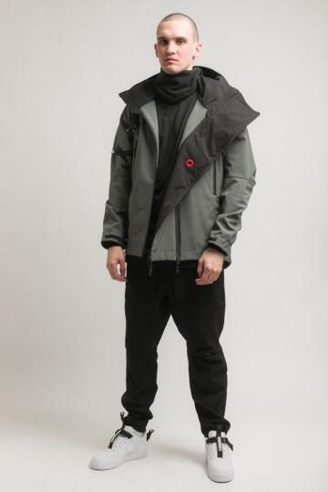 Куртка Safe 3 COR Серый Темный Софтшелл