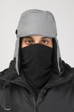 Шапка-ушанка E-AR COR Светоотражающий Серый