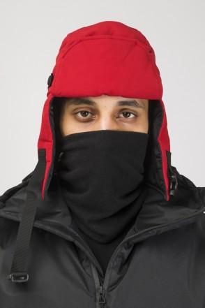 Шапка-ушанка E-AR COR Красный