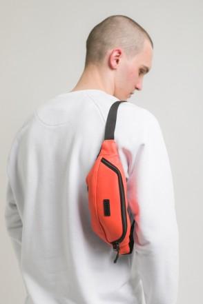 Сумка поясная Hip Bag Оранжевый иск. Кожа