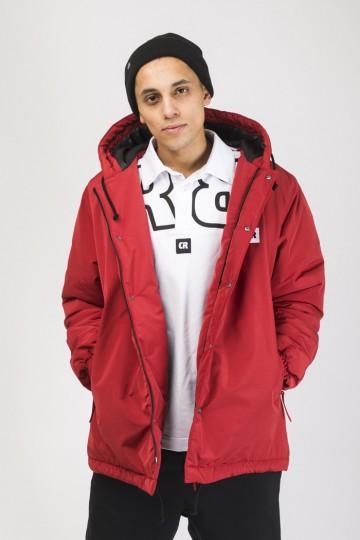 Куртка Winter Coach 2018 Красный Темный
