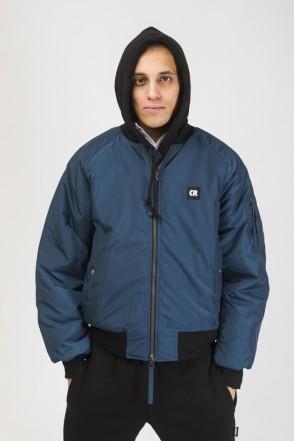 Bomber + Winter Jacket Denim