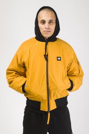 Bomber + Winter Jacket Mustard