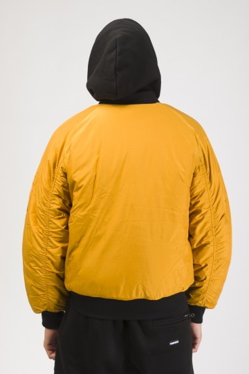 Куртка Bomber + Горчичный