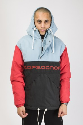Superblaster 3 Anorak Blue/Red Vintage/Black
