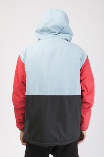 Анорак Superblaster 3 Голубой/Красный Винтаж/Черный