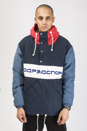 Superblaster 3 Anorak Ink Blue/Denim/Red Vintage/White