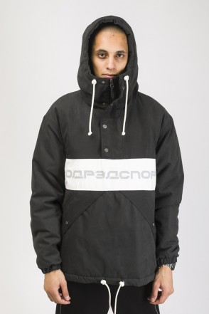 Superblaster 3 Anorak Black/White