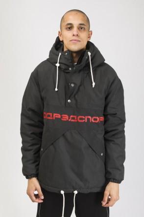 Анорак Superblaster 3 Черный/Красный