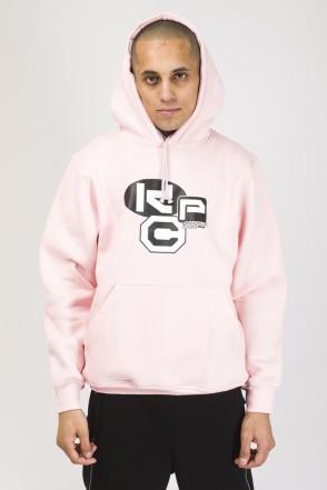 Hood Up Hoodie Pink CRS Cyrillic