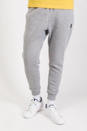 Basic Lady Wide Pants Gray Melange