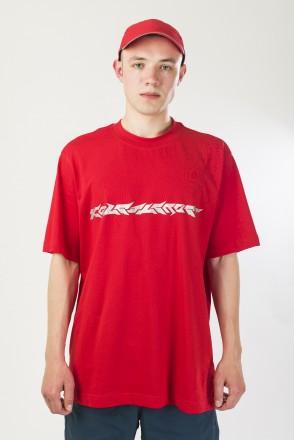 T-Shirt Blaster Font Red