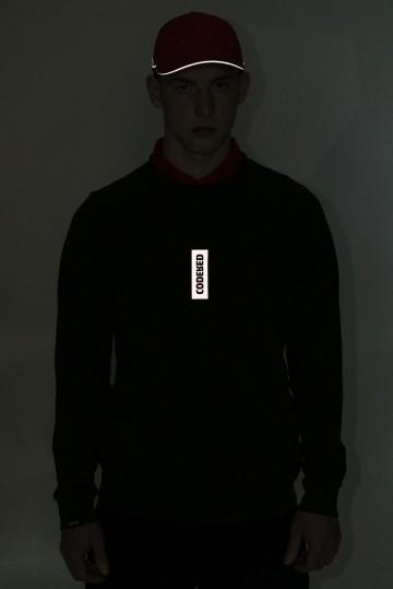 Толстовка-крюнек Firm Summer 90`s Reflections Box Серый Темный